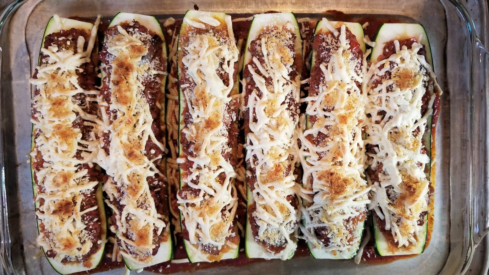 Vegan Stuffed Zucchini Boats